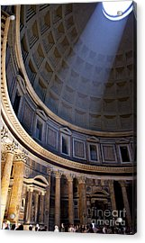 Acrylic Print featuring the photograph Pantheon Interior by Brian Jannsen