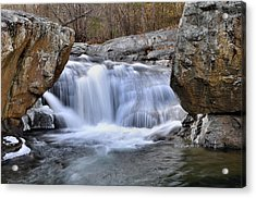 Panther Falls Acrylic Print by Todd Hostetter