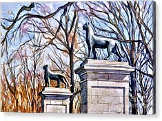 Panthers At The Gate Acrylic Print