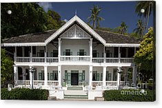 Panwa House - Thailand Acrylic Print by Pete Reynolds