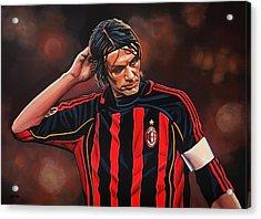 Paolo Maldini Acrylic Print