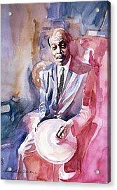 Papa Jo Jones Jazz Drummer Acrylic Print