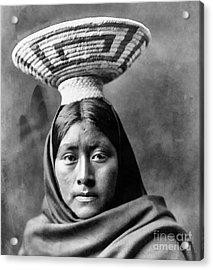 Papago Indian Luzi Acrylic Print