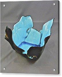 Paper-thin Bowl  09-001 Acrylic Print