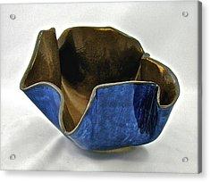 Paper-thin Bowl  09-005 Acrylic Print by Mario Perron