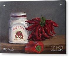 Paprika Acrylic Print