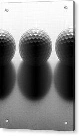 Par 3...golf Acrylic Print