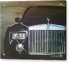 Par De Elegance Rolls Royce Phantom Acrylic Print by Richard John Holden RA