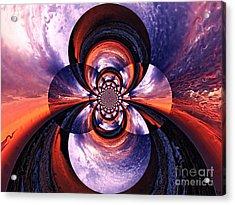 Paradigm Shift Acrylic Print by Roz Abellera Art
