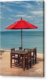 Paradise Dining Acrylic Print