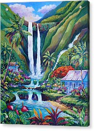 Paradise Falls Acrylic Print