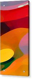 Paradise Found 1 Panel C Acrylic Print by Amy Vangsgard