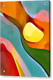 Paradise Found 7 Acrylic Print by Amy Vangsgard