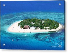 Paradise Island In South Sea IIi Acrylic Print by Lars Ruecker