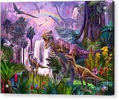 Paradise Acrylic Print by Jan Patrik Krasny