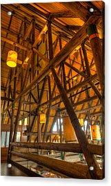 Paradise Lodge Mt Rainier Natl Park Acrylic Print by Steve Gadomski
