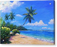 Paradise Palms Acrylic Print