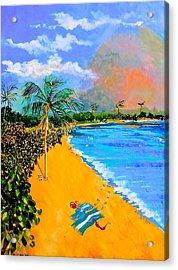 Paradise Acrylic Print by Susan Robinson