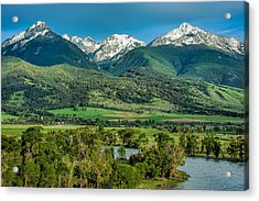 Paradise Valley Acrylic Print by Joan Herwig