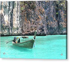 Paradise Water Holiday Acrylic Print