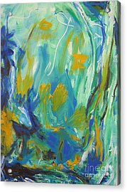 Acrylic Print featuring the painting  Spring Time by Fereshteh Stoecklein