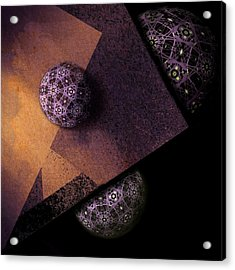 Acrylic Print featuring the digital art Paragon by Susan Maxwell Schmidt