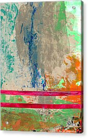 Parallel Paths Acrylic Print