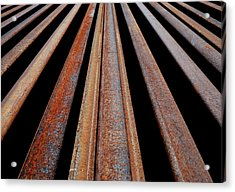 Parallels Acrylic Print by Steven Milner