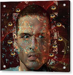 Paranoia Acrylic Print by Carol & Mike Werner