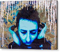 Paranoid Android Re-mix Acrylic Print by Bobby Zeik