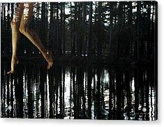 Paranormal Activity Acrylic Print by Donna Blackhall