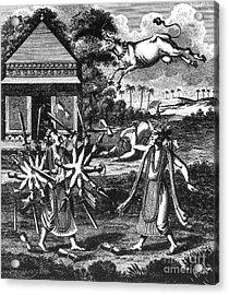 Parasurama, Sixth Avatar Of Vishnu Acrylic Print