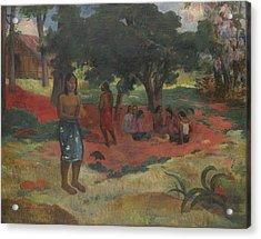 Parau Parau , 1892 Acrylic Print