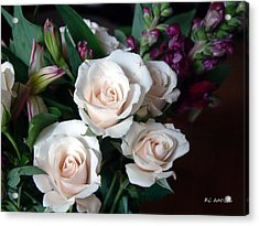 Acrylic Print featuring the photograph Pardon My Blush by RC deWinter