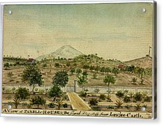Parell House And The Signal Flagstaff Acrylic Print by British Library