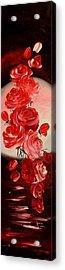 Parfum De Trandafiri Acrylic Print by Mariana Oros