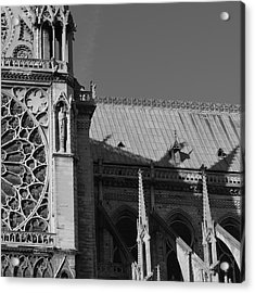 Paris Ornate Building Acrylic Print