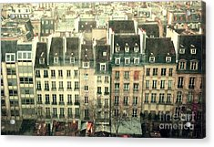 Paris Beaubourg Acrylic Print by Louise Fahy