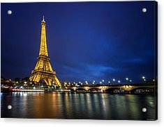 Paris Blues Acrylic Print