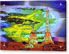 Paris - City Of Lights Acrylic Print