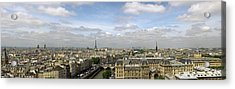 Paris City Skyline Acrylic Print by Vii-photo