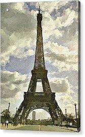 Paris Eiffel Tower 4 Acrylic Print by Yury Malkov