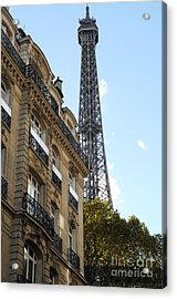 Paris Eiffel Tower Acrylic Print
