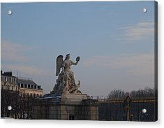 Paris France - 011374 Acrylic Print by DC Photographer