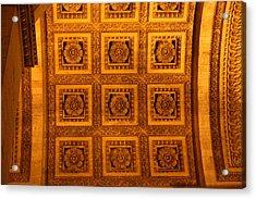 Paris France - Arc De Triomphe - 01134 Acrylic Print