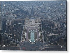 Paris France - Eiffel Tower - 011310 Acrylic Print by DC Photographer