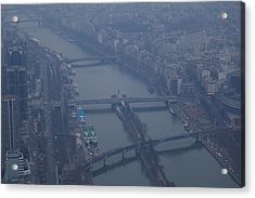 Paris France - Eiffel Tower - 011311 Acrylic Print by DC Photographer