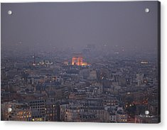 Paris France - Eiffel Tower - 011318 Acrylic Print
