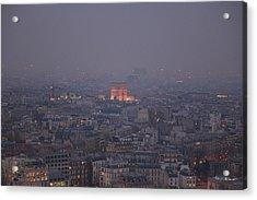 Paris France - Eiffel Tower - 011318 Acrylic Print by DC Photographer