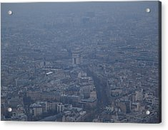 Paris France - Eiffel Tower - 01138 Acrylic Print